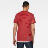 G-Star RAW® CNY Graphic Top Red model back