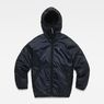 G-Star RAW® Hooded Jacket Dark blue model front
