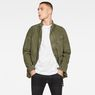 G-Star RAW® Back Pocket Field Jacket Green model front