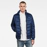 G-Star RAW® Meefic Quilted Overshirt Dark blue model front