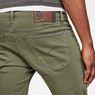 G-Star RAW® 3301 Slim Shorts Green front flat