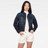 G-Star RAW® 3301 Straight Denim Jacket C Dark blue model front