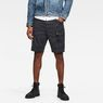 G-Star RAW® Roxic Shorts Dark blue model front