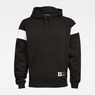 G-Star RAW® Stor Sport GR Hooded Sweater Black flat front