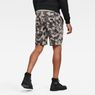 G-Star RAW® Brush Camo Sweat Shorts Grey model back