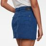 G-Star RAW® 3301 High Mini Skirt Ripped Edge Medium blue