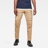 G-Star RAW® Roxic Straight Tapered Cargo Pants Brown model front