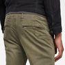 G-Star RAW® Vetar Slim Chino Green model back zoom