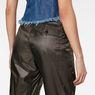 G-Star RAW® 3D Utility High Loose Crop Pants Grey model back zoom