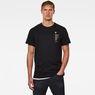 G-Star RAW® Korpaz Logos GR T-Shirt Black model front