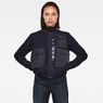 G-Star RAW® 3D Wool Bomber Jacket Dark blue model front