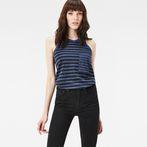 Imperial Blue/Black Stripe