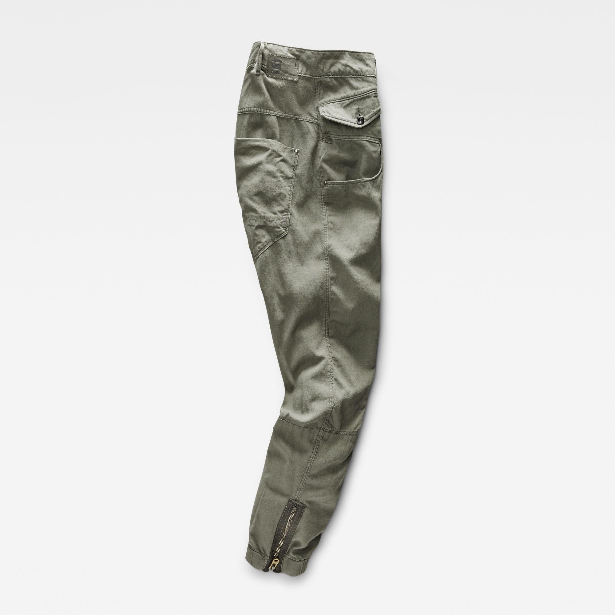 Army Radar Zip Loose Tapered Pants