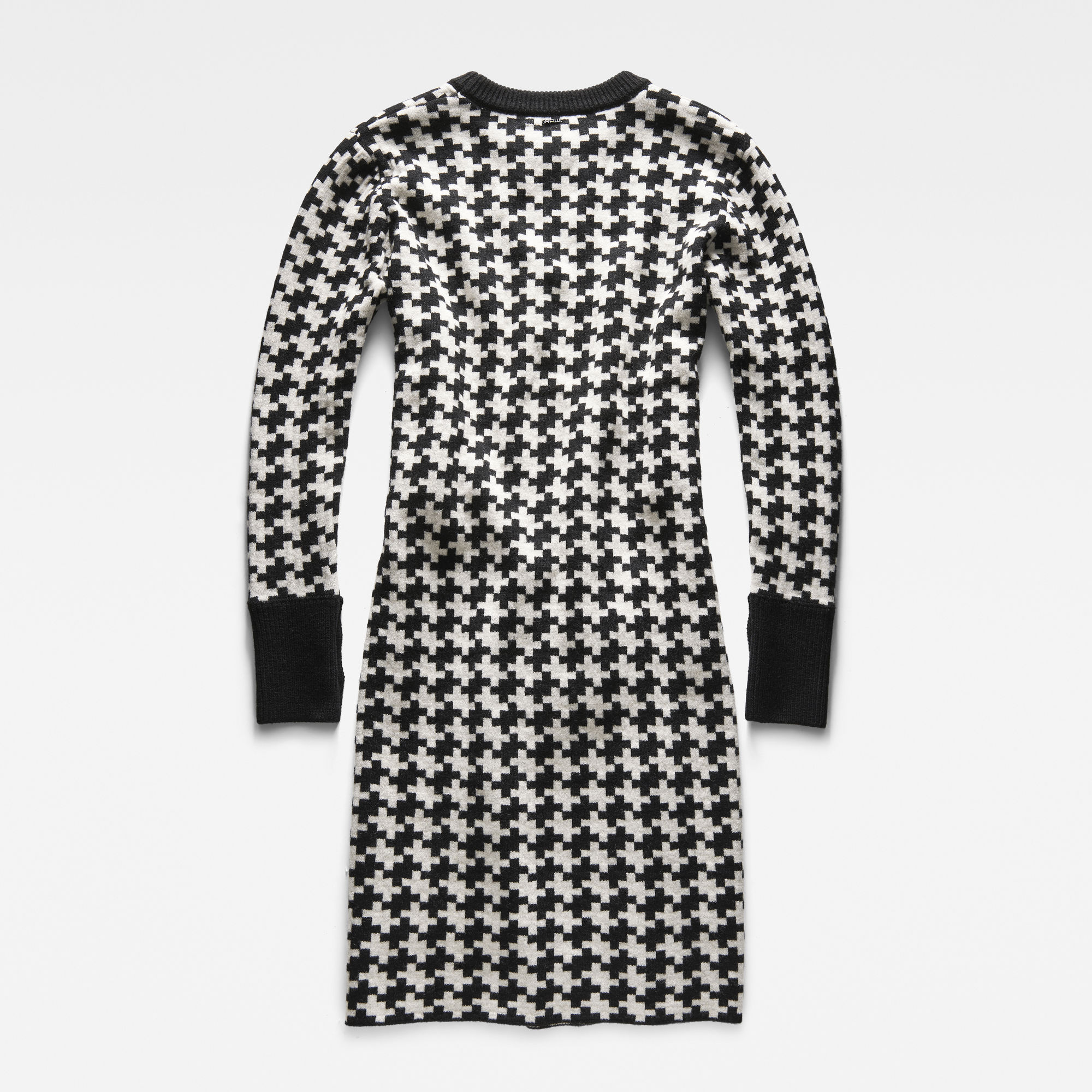 Evalak Jacquard Knit Dress