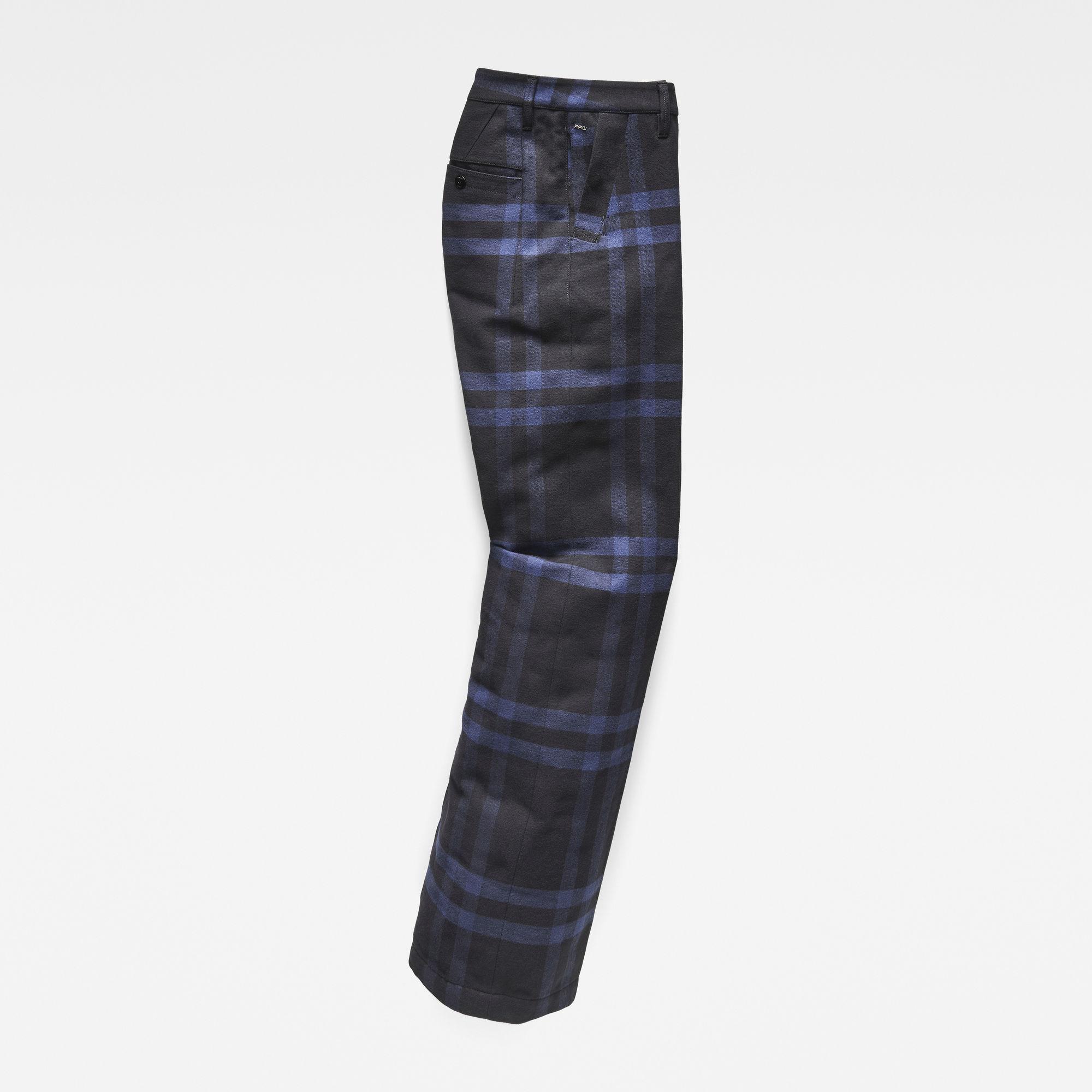 Bronson Army High Waist Wide Leg Chino