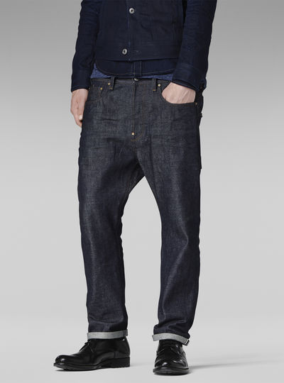 US First Straight Red Listing Jeans