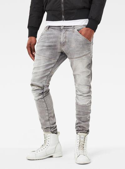 5620 G-Star Elwood 3D Zip Knee Super-Slim Jeans