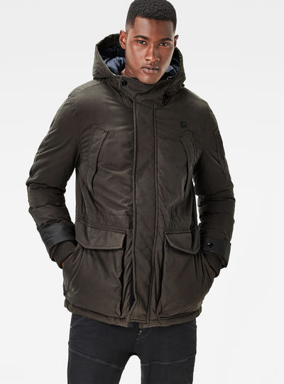 Expedic Hooded Cotton Jacket