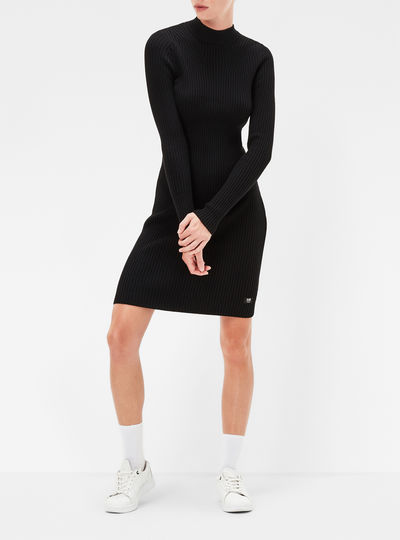 Lynn Turtle Knit Dress