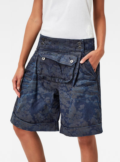 5621 Pouch Cirex High Waist Shorts