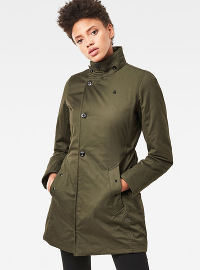 Minor Classic Padded Slim Trench
