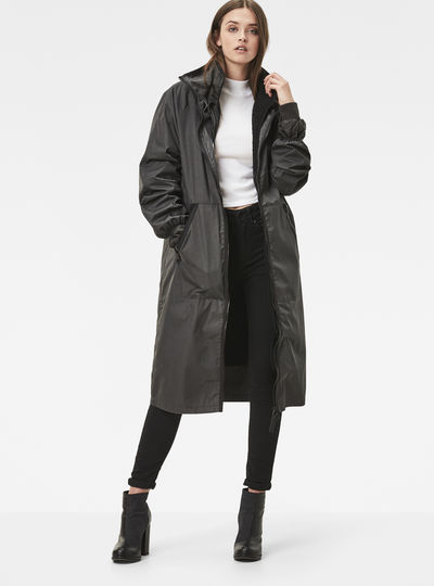 Strett Long Boyfriend Coat
