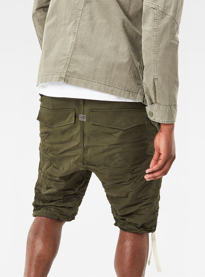 Rovic Deconstructed Loose 1/2-Length Pants