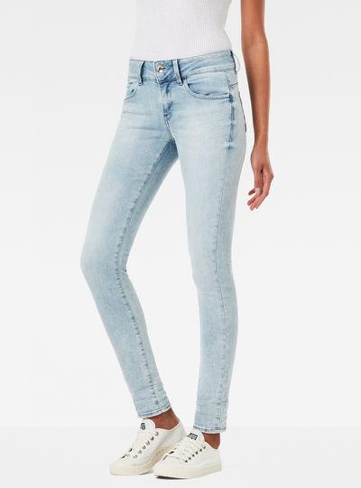Midge D-Cody Mid Waist Skinny Jeans