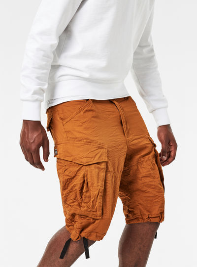 Rovic Loose 1/2-Length Cargo Shorts