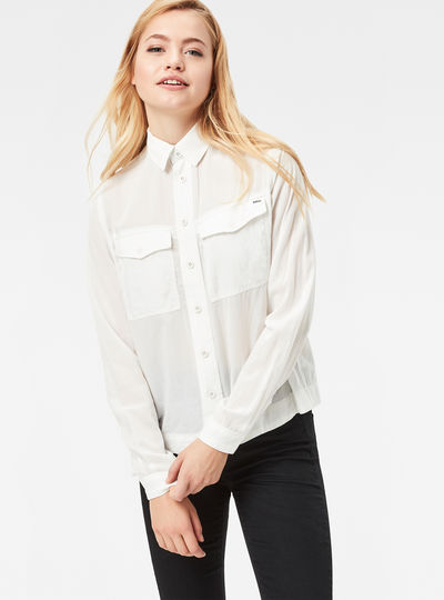 Rovic Loose Cropped Shirt