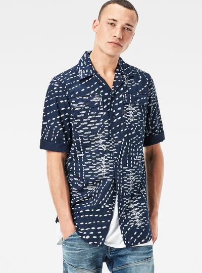 Landoh Straight Service Denim Shirt