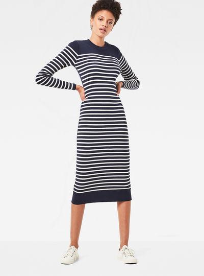 Exly Stripe Dress