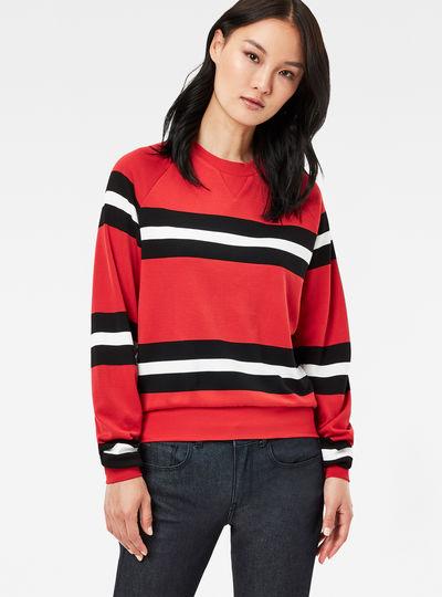 Xula Cropped Raglan Sweater