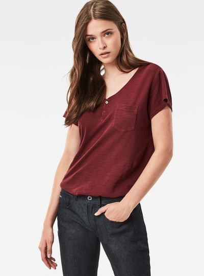 Nola Straight Granddad T-Shirt
