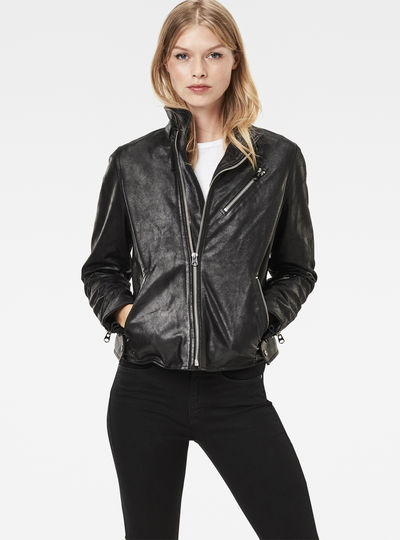 Empral Straight Biker Jacket