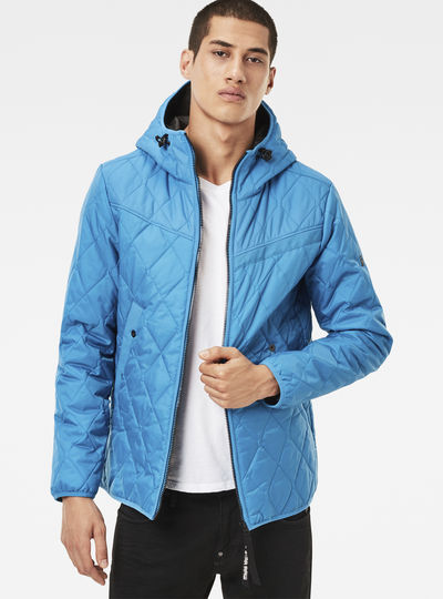 Attacc Quilted Hooded Overshirt