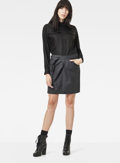 Rovic Pocket Wrap Dress