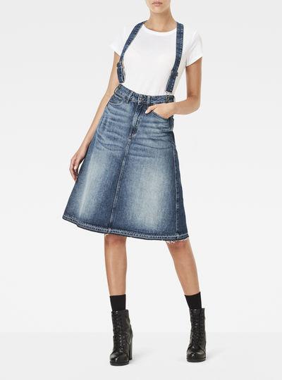 3301 A-line Midi Skirt