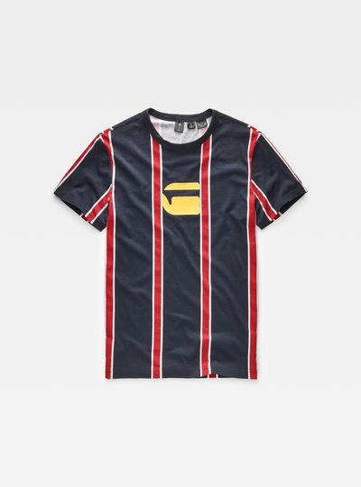Regimental Stripe X25 Print T-Shirt
