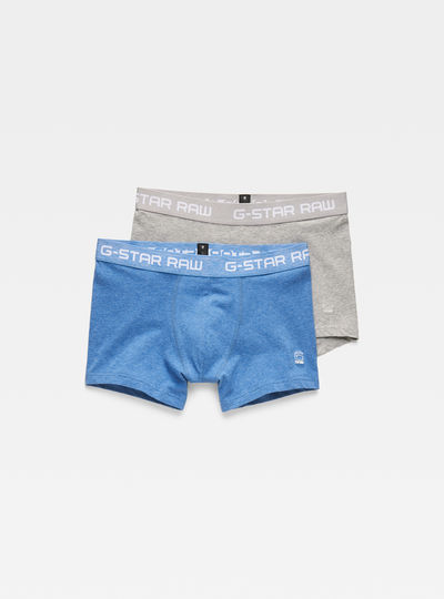 Classic Heather Trunks 2-Pack