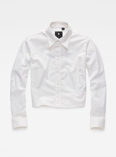 Core Cropped Straight Shirt