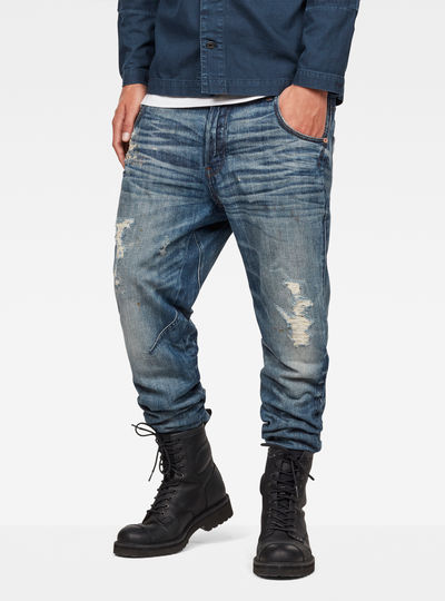 Raw Essentials Arc 3D Tapered Jeans