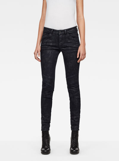 5622 D-Motion 3D Mid-Waist Skinny Jeans