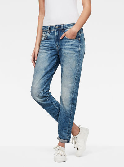 Arc 3D Mid-Waist Boyfriend Jeans
