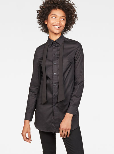 Core 3D Elongated Slim Shirt