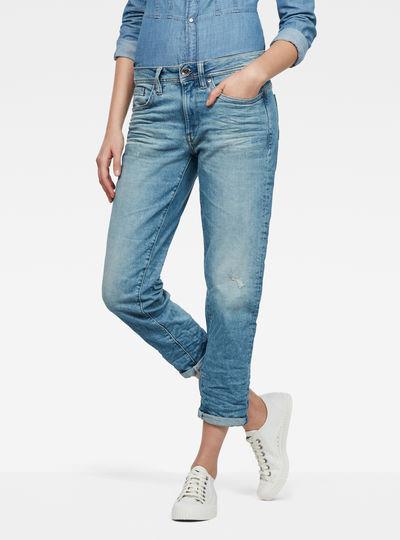 Midge Saddle Boyfriend Jeans