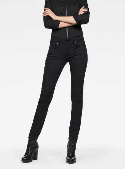 Type C Auxilary Components Mid-Waist Skinny Jeans