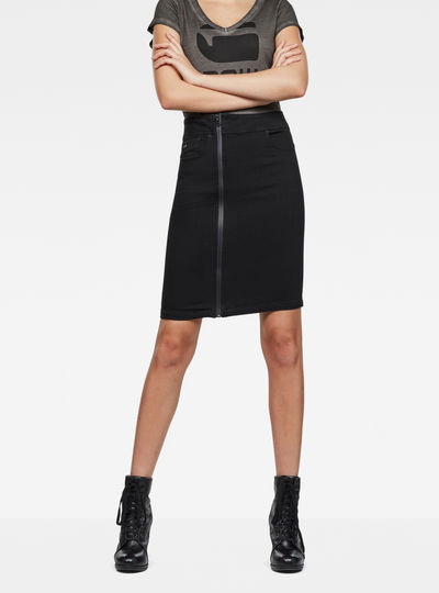 Lynn Lunar High-Waist Slim Skirt