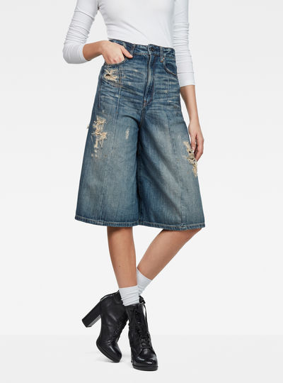 Raw Essentials Lanc 3D Ultra-High Gaucho Pants