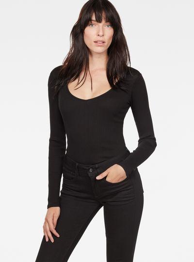 Wyver Slim V-Neck T-Shirt